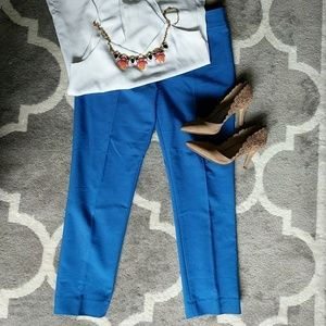 Ann Taylor Blue Crop Pants
